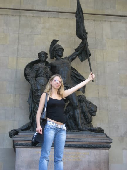 Svitlana Azarova in Munich for Musica Viva 2007