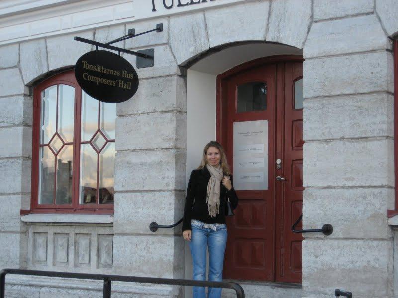 Svitlana Azarova Visby, Gotland, Sweden 2007
